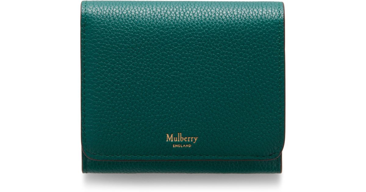 big clearance sale reasonable price buy online Mulberry Green Small Continental French Purse