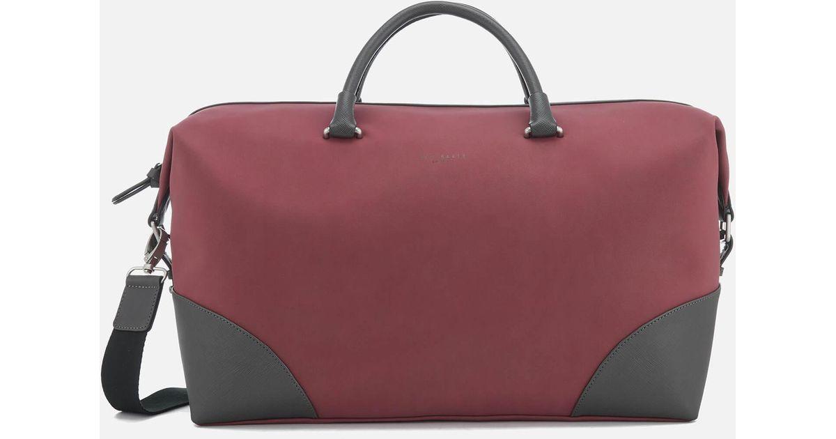 7e880c44474c Lyst - Ted Baker Swipes Nubuck Holdall Bag for Men