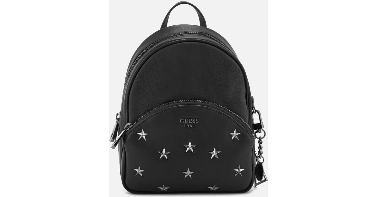bc99ce7094 Lyst - Guess Bradyn Small Backpack in Black