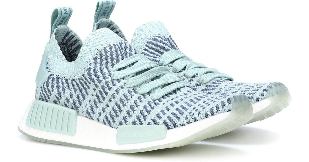 Lyst Primeknit Adidas Originali Nmd R1 Primeknit Lyst Scarpe In Verde 149dfd