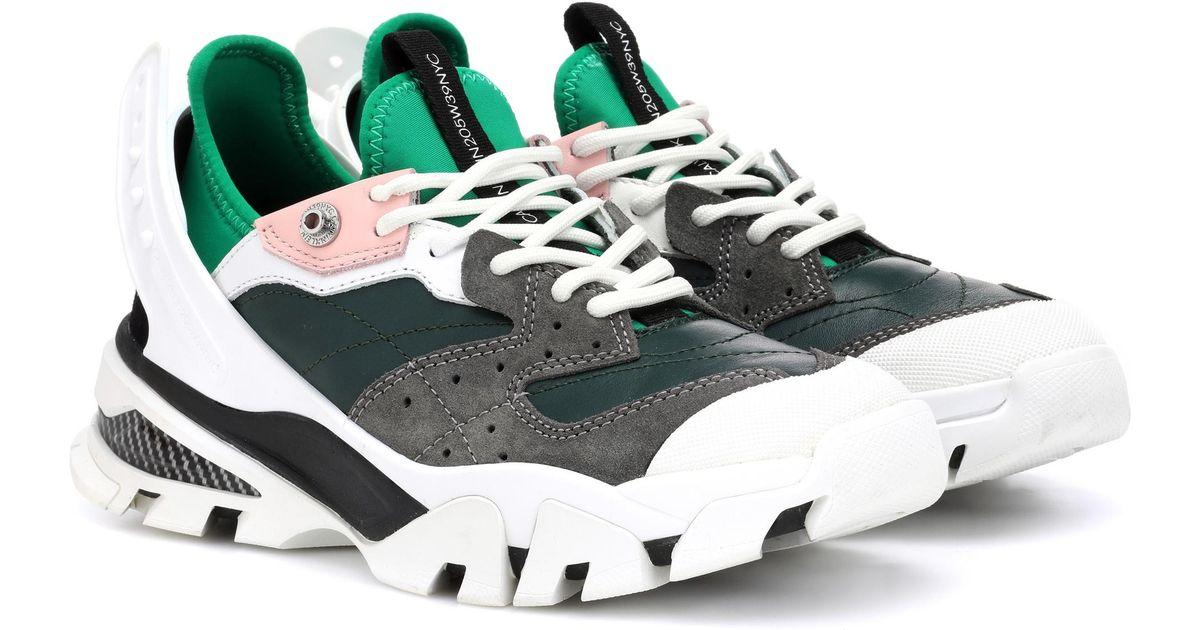 Sneakers Calvin Klein Leather Green 205w39nyc Carla 43LR5Aj