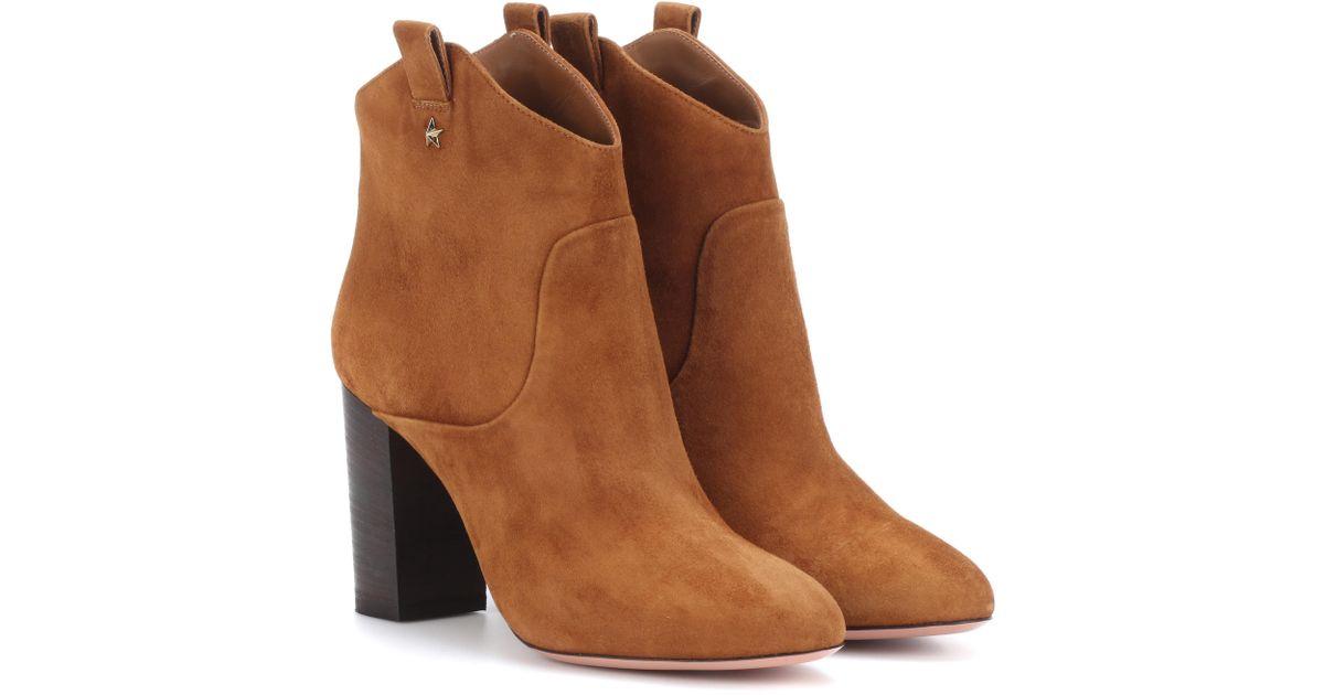 Aquazzura Rocky suede ankle boots iHXT5vTz