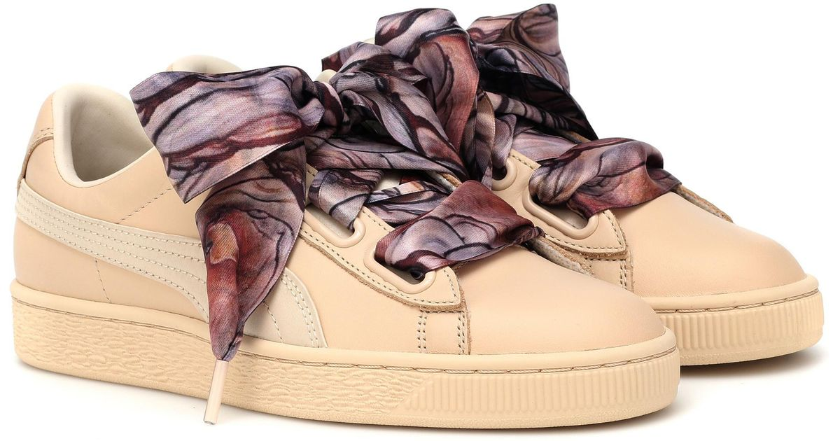 Sneakers Mimicry Heart Natural Puma Basket dCWoQrxBeE