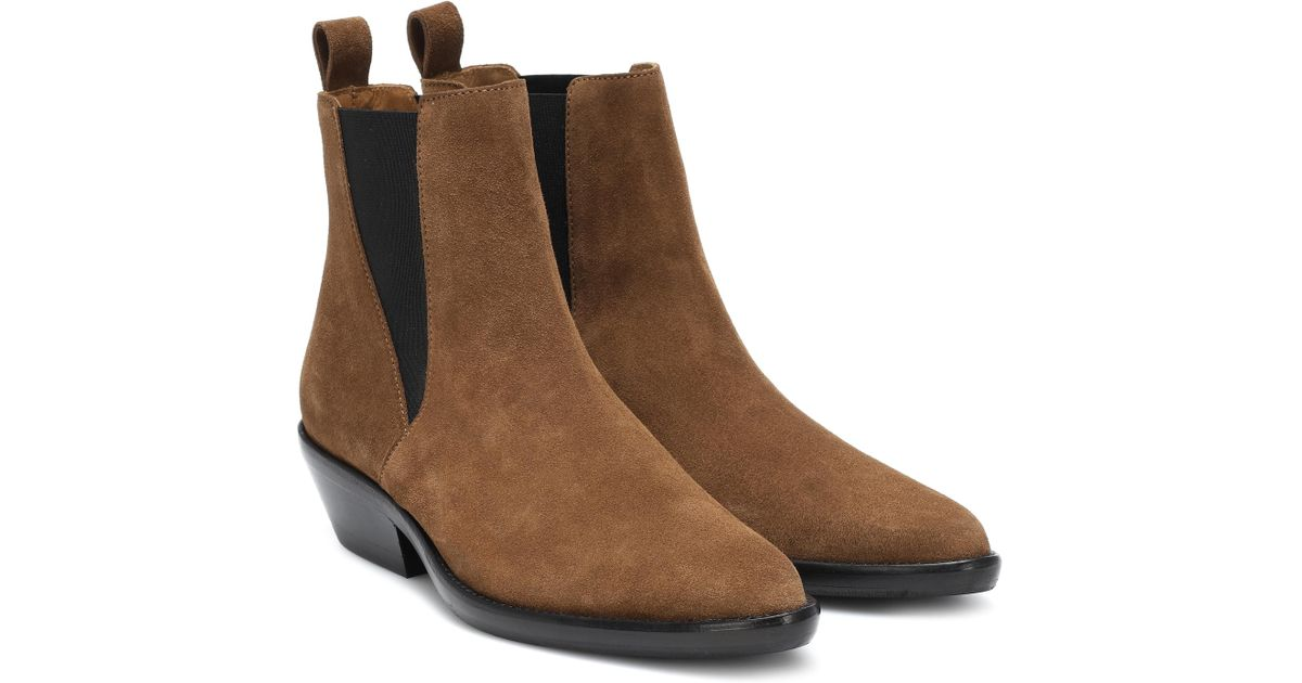 Mytheresa – Drenky Suede Ankle Boots