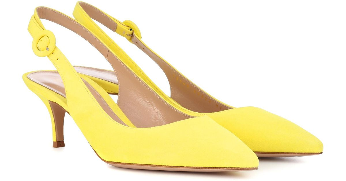 Exclusive to mytheresa.com - Anna satin slingback pumps Gianvito Rossi ACe9sTNQ44