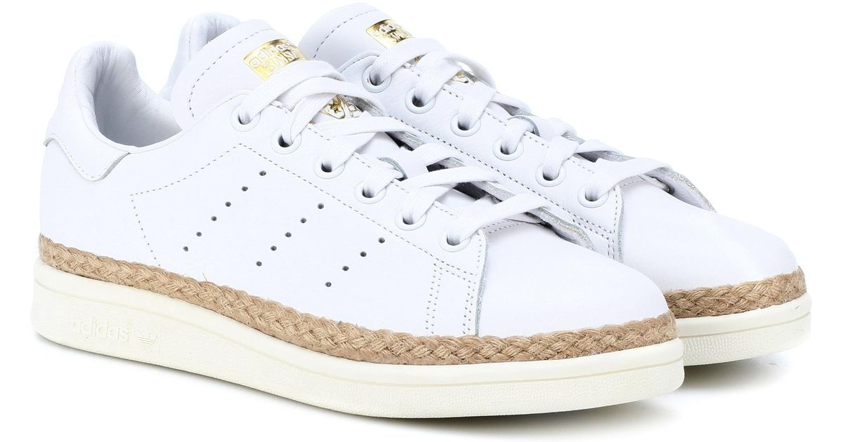 Adidas Originals White Wmns Stan Smith New Bold Sneakers
