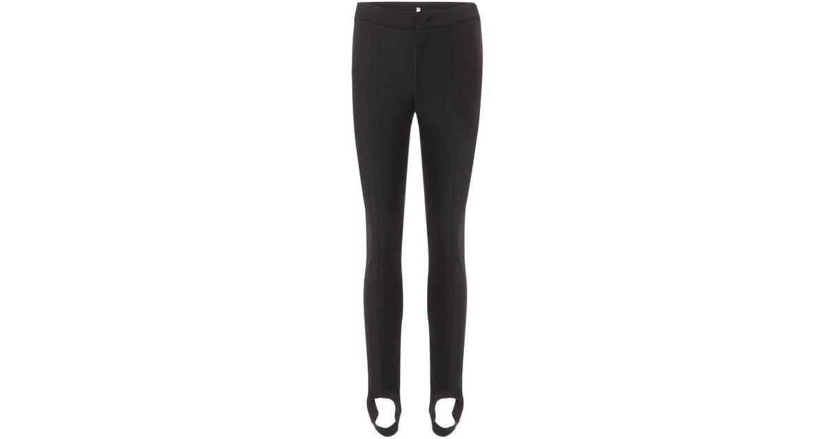 Lyst - Moncler Grenoble Stirrup Ski Pants in Black e905bbec5