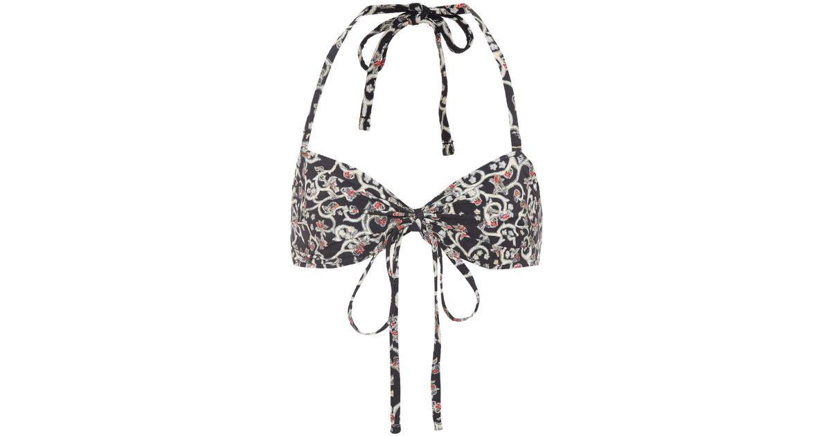 18b37ccef6d9a Lyst - Étoile Isabel Marant Sonny Bikini Bottoms in Black