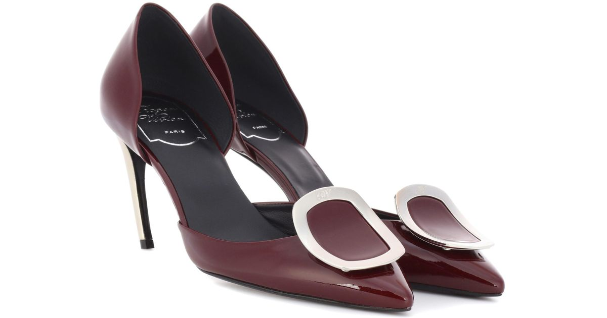 Roger Vivier Dorsay Sexy Choc patent leather pumps Kczvr7I