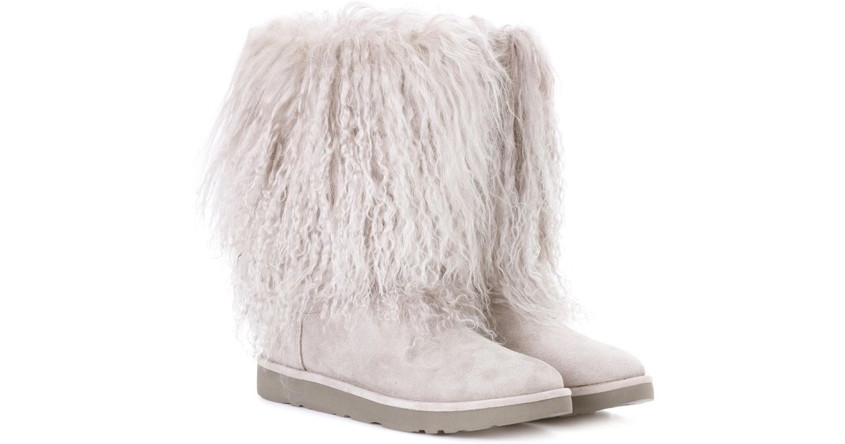 43cdbb7619d wholesale ugg ankle boots with fur f01f2 0c559