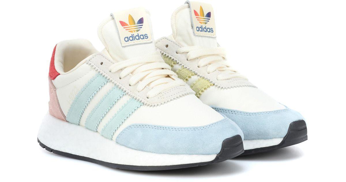 Adidas Originals White I-5923 Runner Pride Sneakers