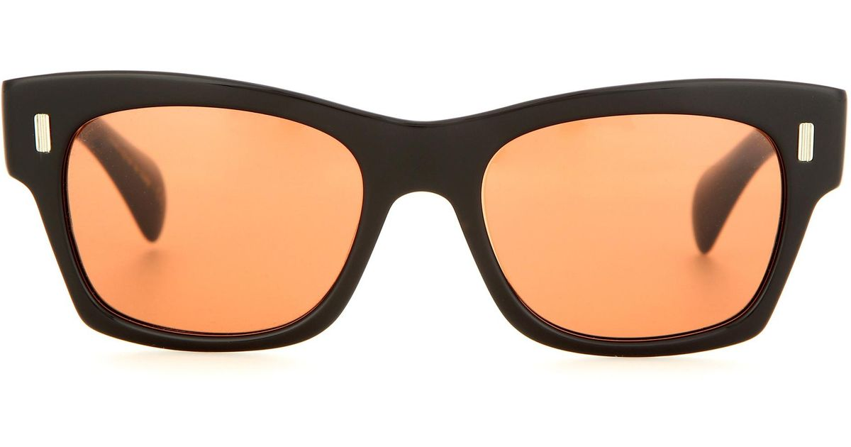 b53d0257248 Lyst - Oliver Peoples 71st Street Sunglasses in Black
