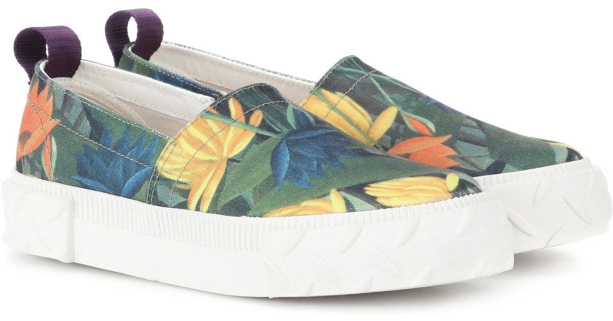 Viper printed slip-on canvas sneakers Eytys ft1Tu