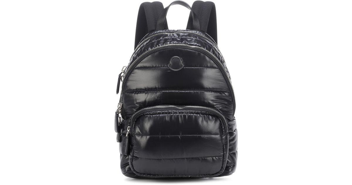 56dda574c Moncler Black Kilia Medium Quilted Backpack