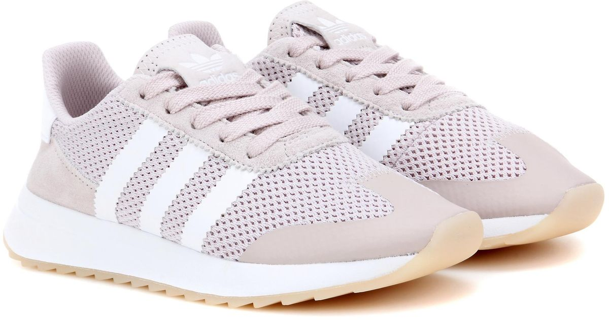 online retailer 11ba4 3e6b8 Adidas Adidas Adidas Originals Flashback Baskets in Rose Lyst a47485