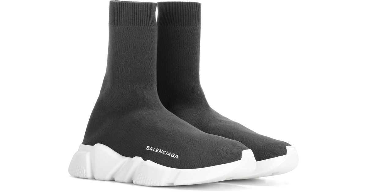 Balenciaga Speed Sneakers in Grey (Gray