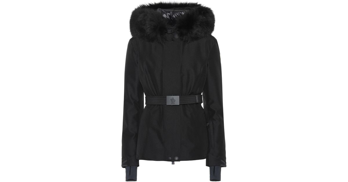 Lyst - Moncler Grenoble Laplance Down Ski Jacket in Black 6d690db3c