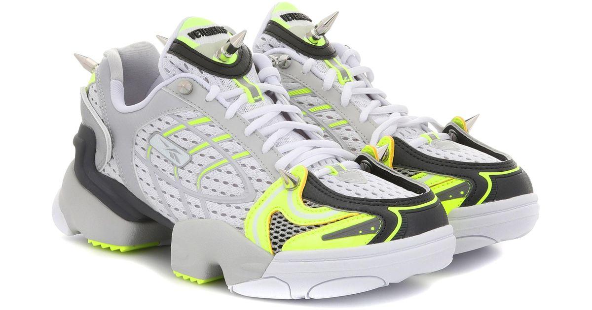 Multicolor Vetements Spike Sneakers X Reebok Runner NPkXwn08OZ