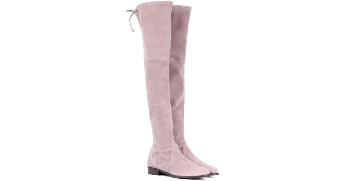 Authentic Sale Online Discount Big Sale Allgood Skimmer over-the-knee boots Stuart Weitzman Cheap Price Fake Buy Cheap Low Price Cheap Sale Pictures jeVz9yS