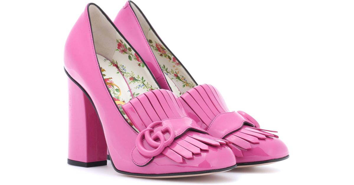 gucci shoes women pink