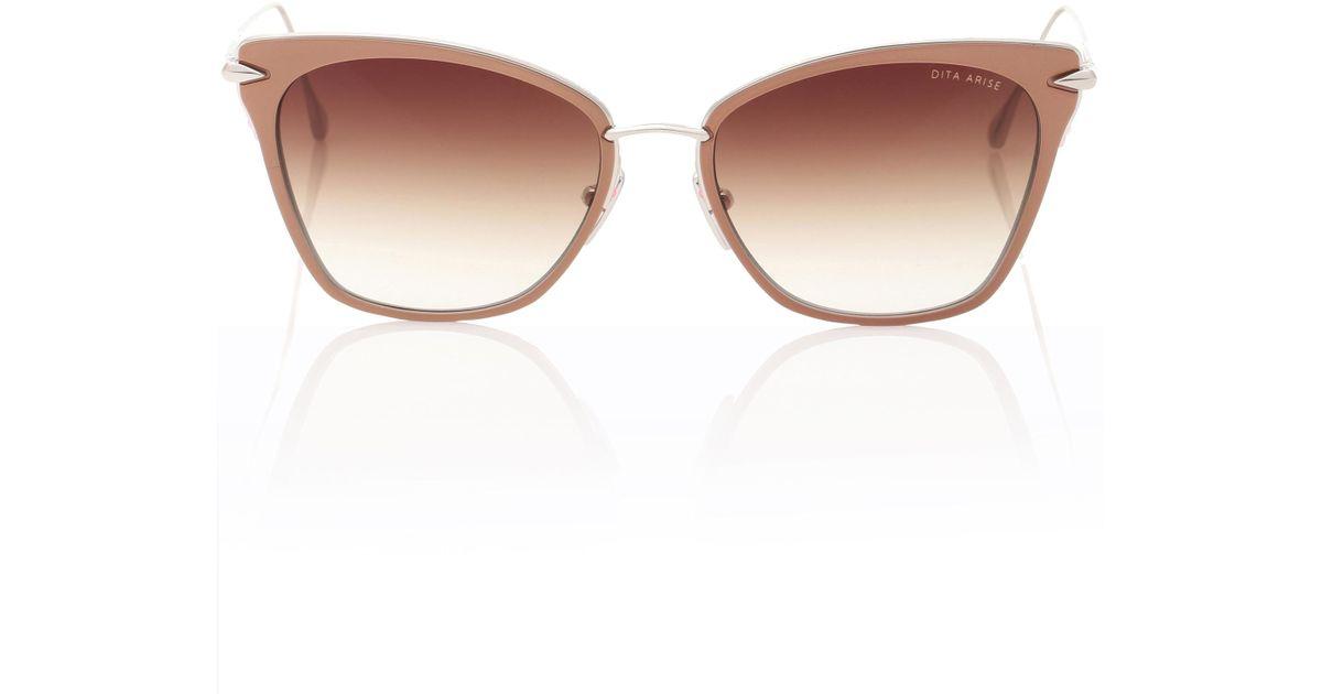 bd89216a56a Lyst - Dita Eyewear Arise Cat-eye Sunglasses in Pink