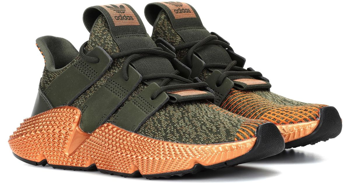 Baskets à finitions en cuir Prophere Adidas Originals en coloris Green