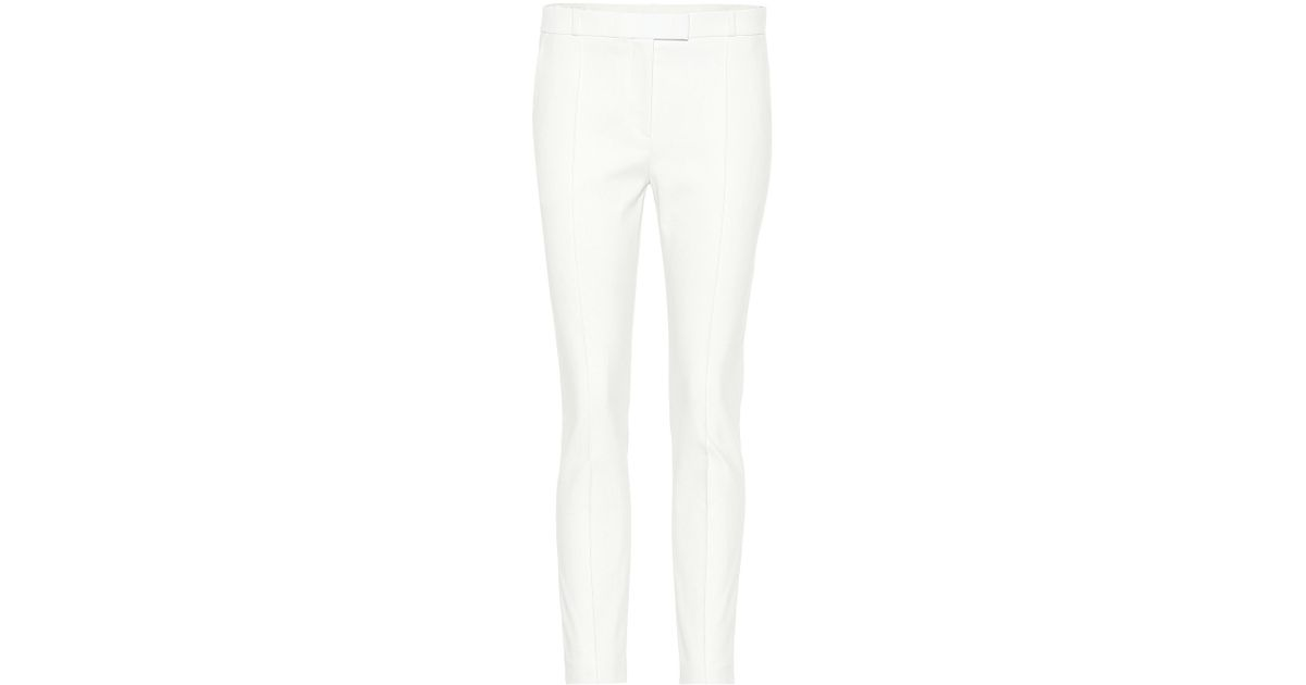 Sale 100% Original Shopping Online High Quality Tao cropped cotton-blend pants The Row Cheap Sale Find Great 3s3vM