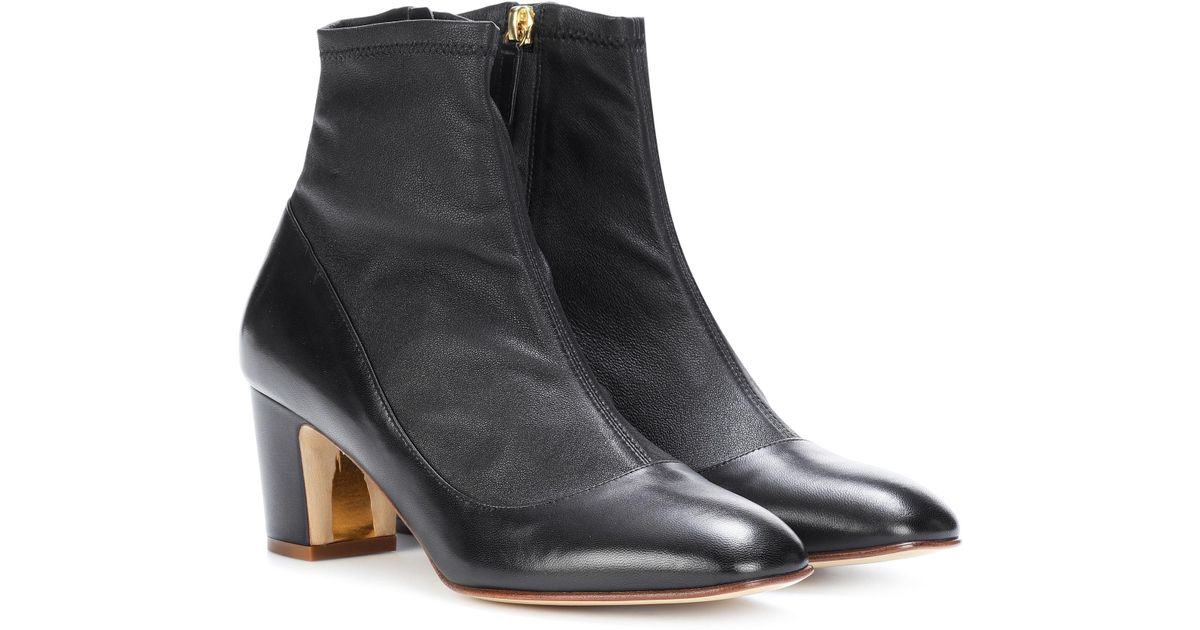 Rupert Sanderson Women's Lolita Leather Heeled Ankle Boots Free Shipping Fake Clearance Outlet Locations Hot Sale For Sale IkvY1