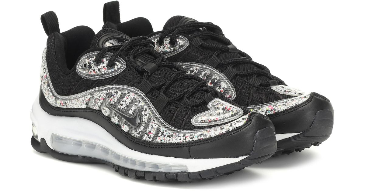 official photos f444b 5f7ee Nike Black Air Max 98 Lx Sneakers