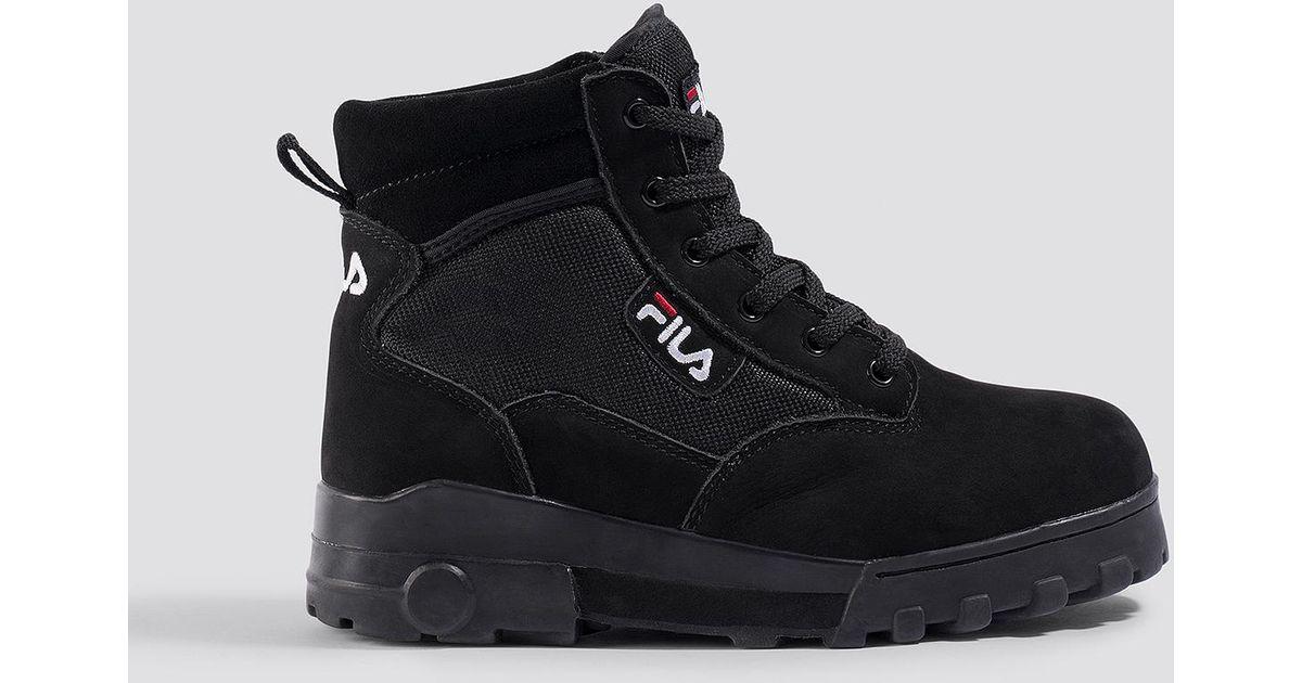 Fila Grunge Mid Wmn Boot Black