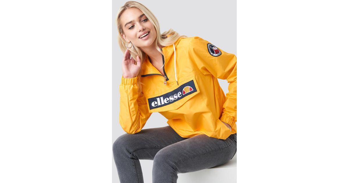 6685b28ed9 Ellesse El Mont 2 Half Zip Jacket Yellow