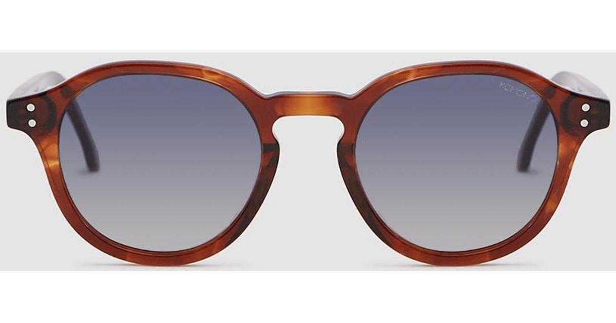 15f3a43e7ad5 Lyst - Komono Damien Sunglasses In Bourbon