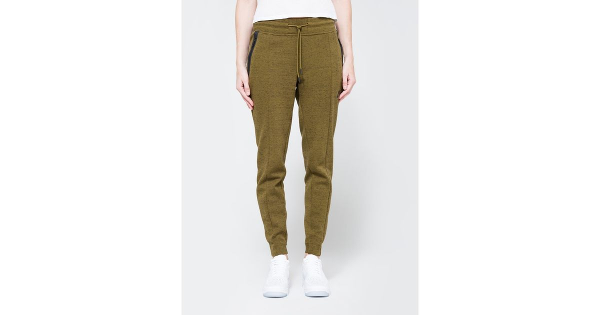 Nike Womens Tech Fleece Pant Olive Flak