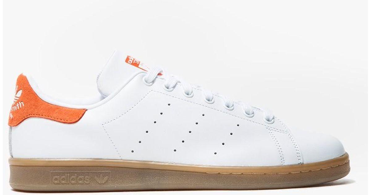 brand new f0ce8 e2a39 Adidas Originals Stan Smith Gum Craft Orange for men