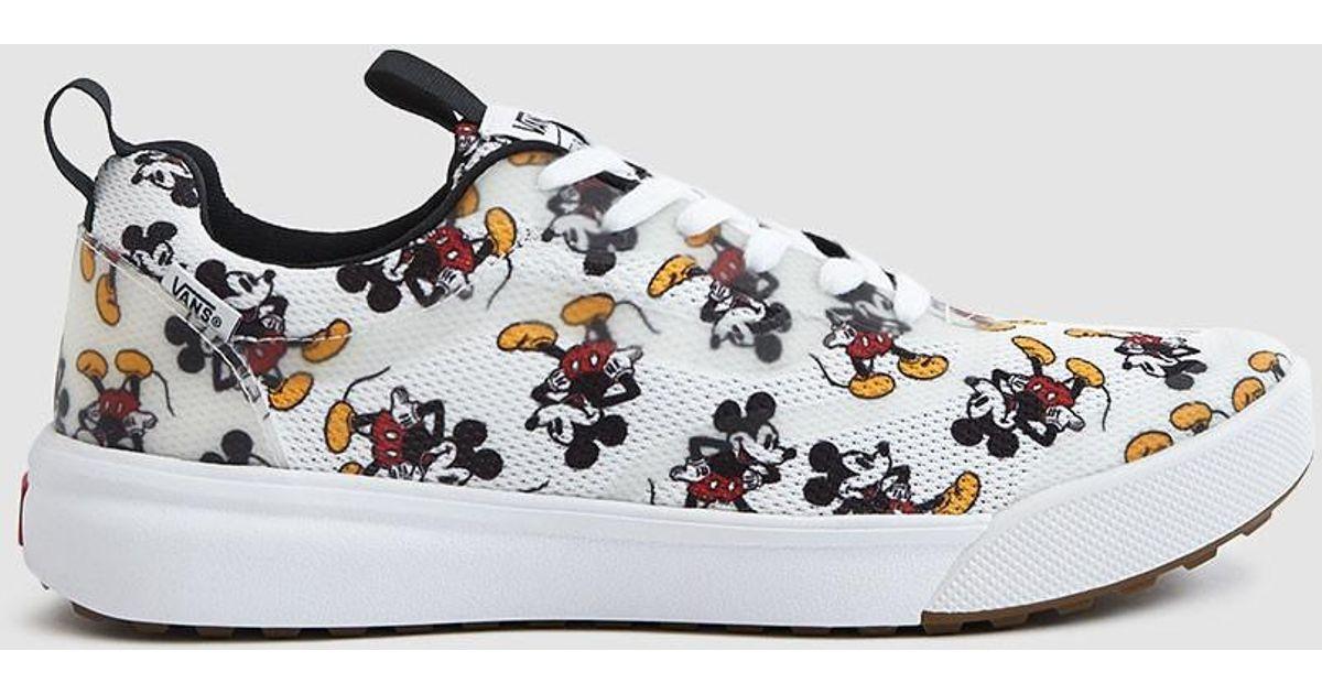 a495777284ed Lyst - Vans Disney Ultrarange Rapidweld Mickey Mouse Sneaker for Men