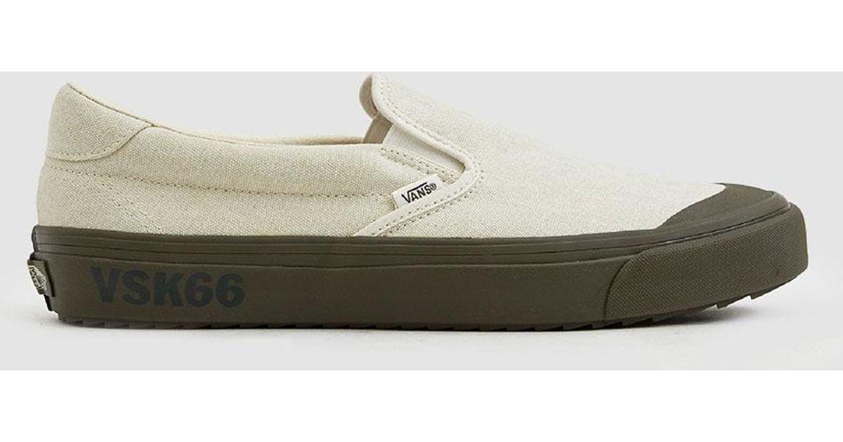 bbb57b36ce4 Lyst - Vans Podium Slip-on Wafflesaw Sneaker for Men