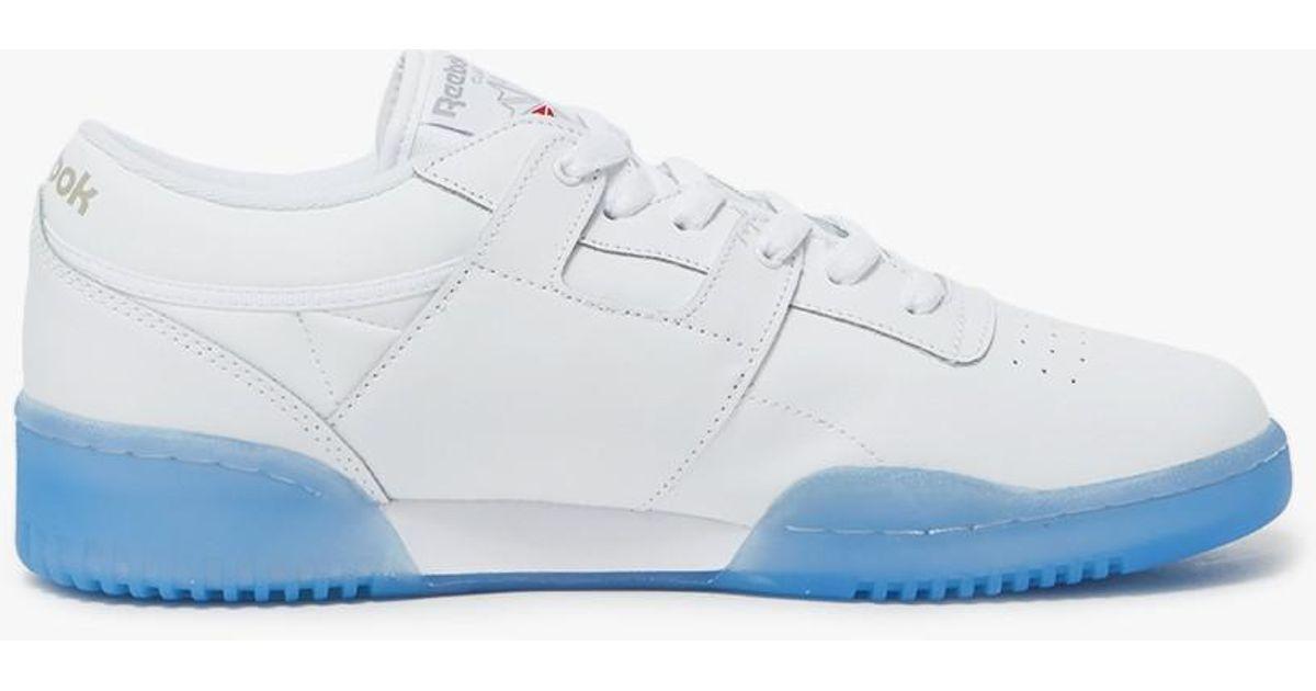 reebok classic ice blue sole - 60% OFF