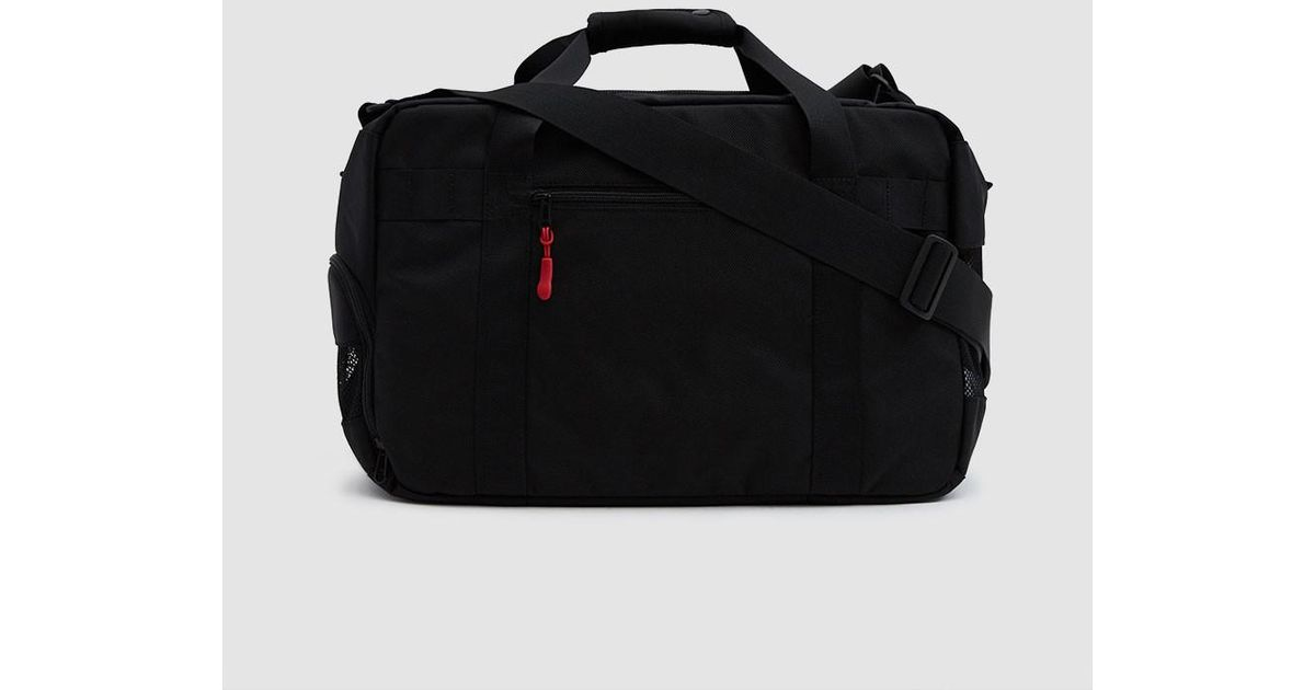 78a976e34777 Dsptch Gym work Shoulder Bag in Black for Men - Lyst