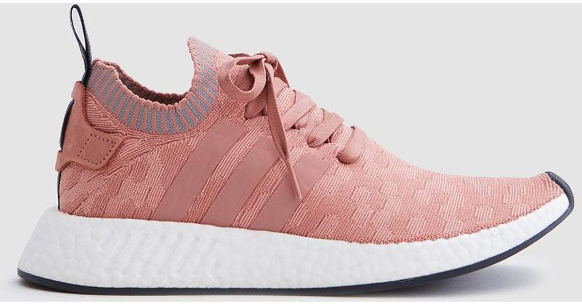 pretty nice f5730 56fcf Adidas Nmd R2 In Raw Pink/grey