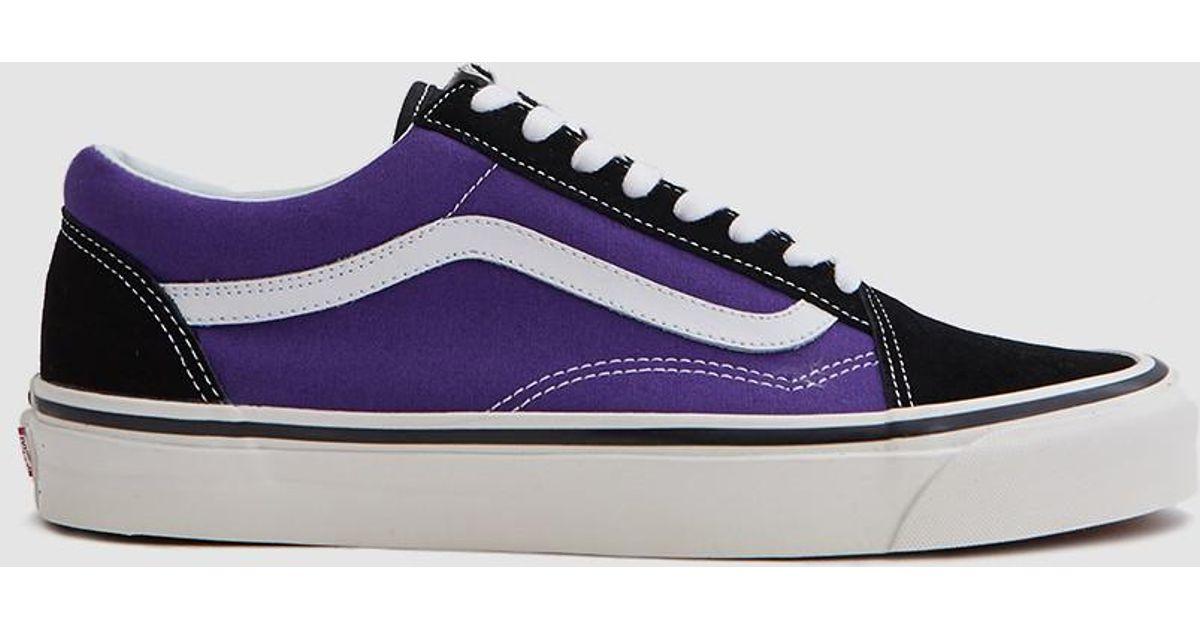 e9a0e0b335 Lyst - Vans Old Skool 36 Dx Anaheim Factory In Bright Purple in Purple for  Men