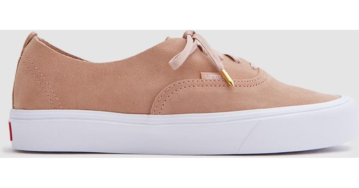 1babebbf59 Lyst - Vans Authentic Decon Lite In Mahogany Rose true White in Pink for Men