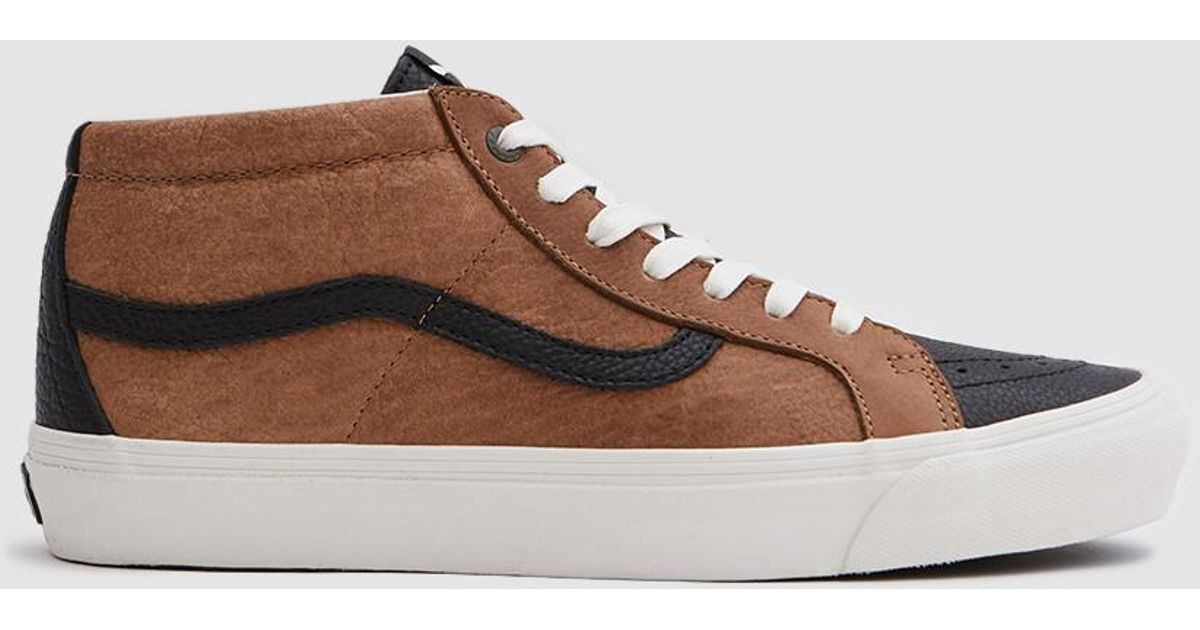 8859b21d74 Lyst - Vans Taka Hayashi Og Sk8-mid Lx in Brown for Men