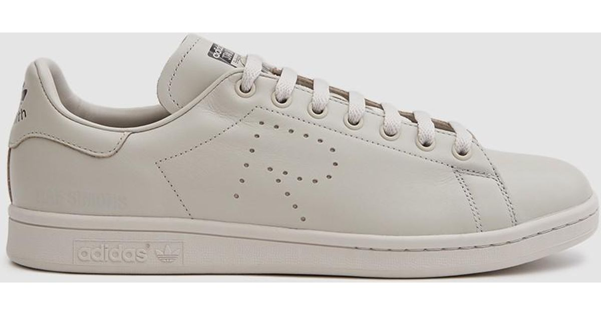 buy online 0b683 fd082 Adidas By Raf Simons Gray Rs Stan Smith Sneaker In Mist Stone/mist Stone/bl  for men