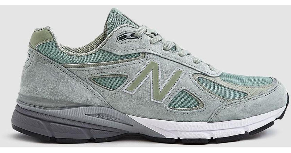 cheaper b6b19 9829d New Balance 990 Sneaker in Metallic for Men - Lyst ...