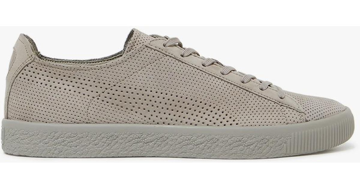 dae5f506e01 Lyst - PUMA X Stampd Clyde In Drizzle in Gray for Men