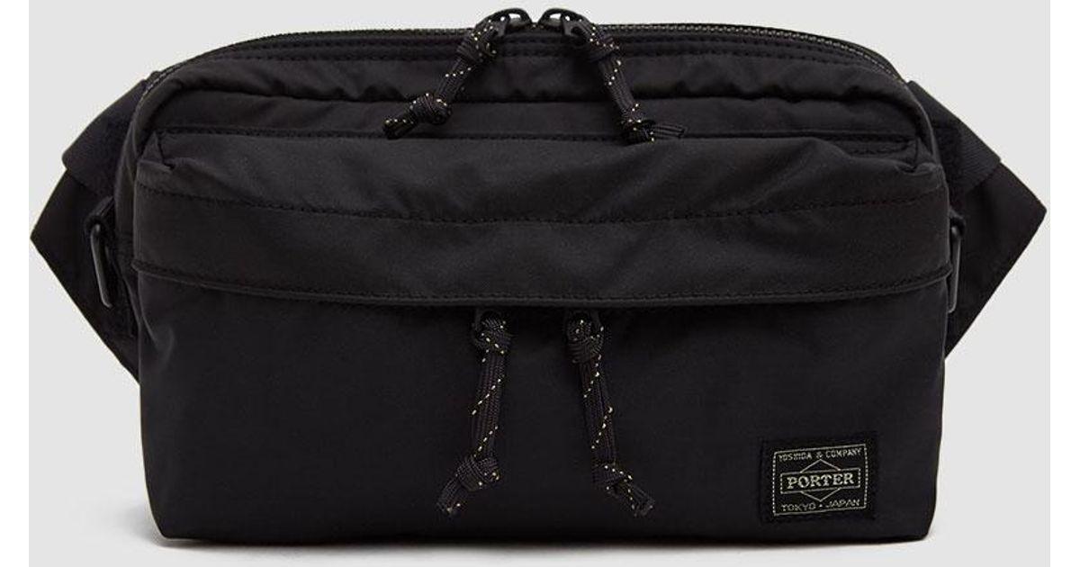 779e9bc5c31d Lyst - Porter Force 2way Waist Bag in Black for Men