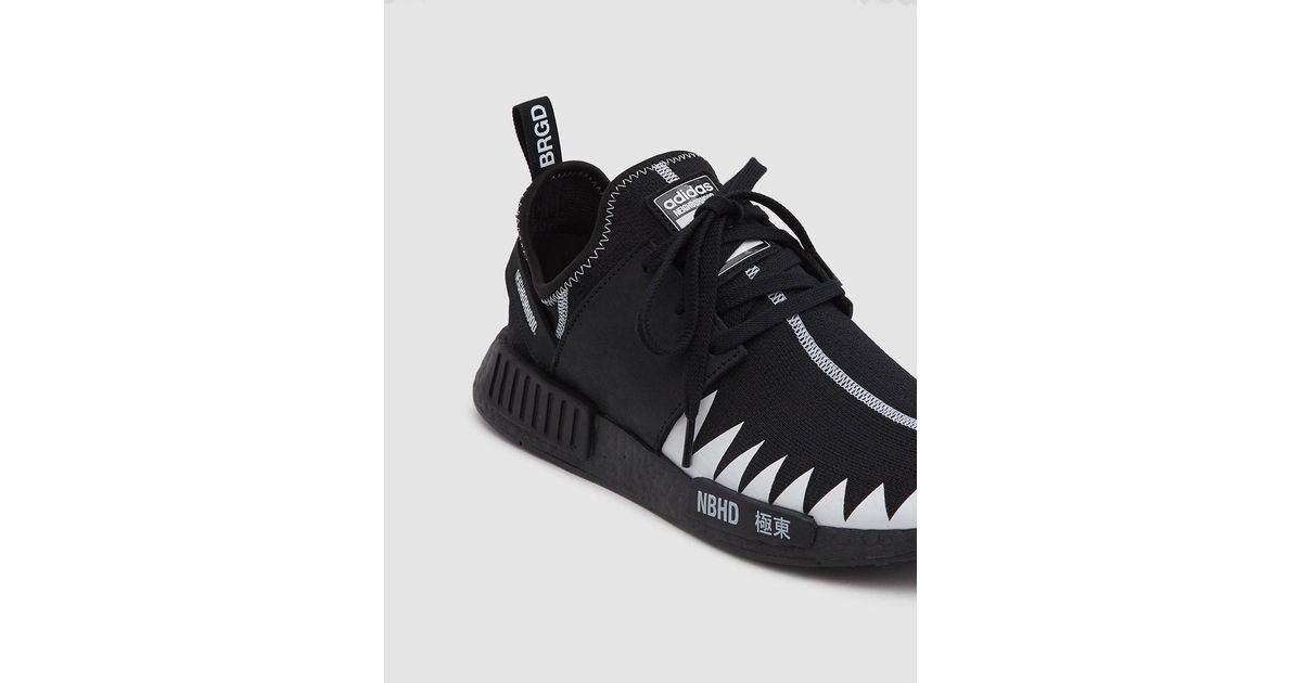 finest selection ee256 6c78b Adidas Black Nmd R1 Pk Nbhd Sneaker for men
