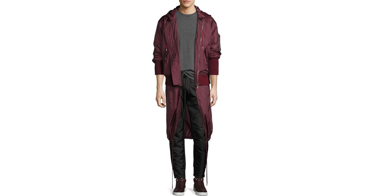 Public School Clemente Hybrid Hooded Bomber Jacket Clearance 2018 Newest For Nice Cheap Price Fr1Rhs4Jmx