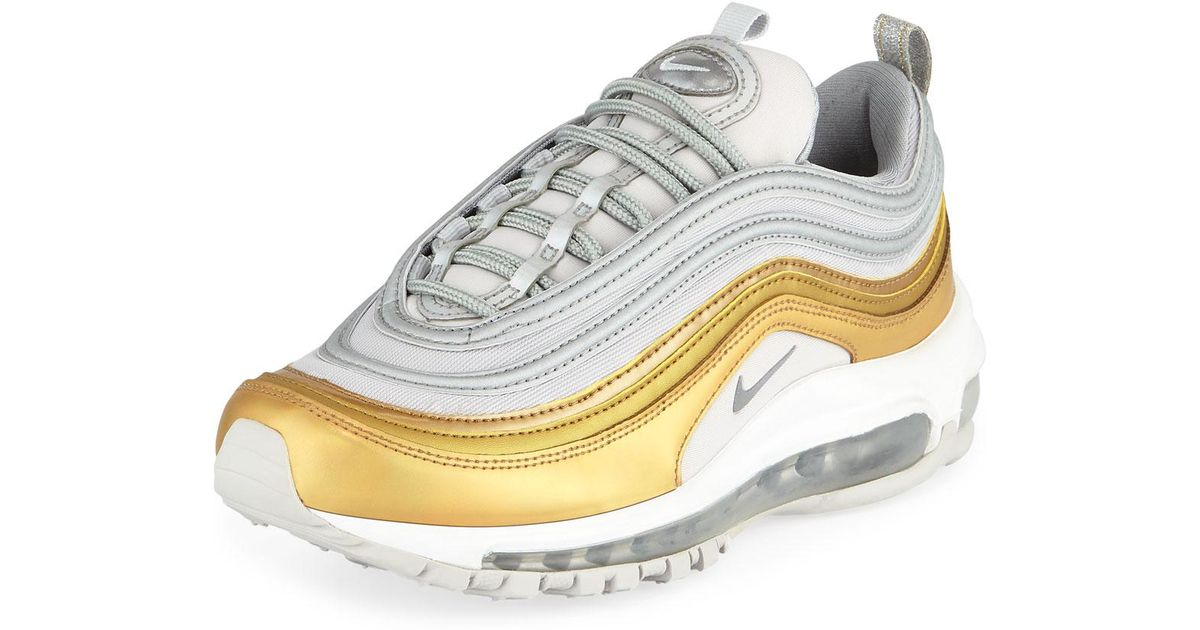 finest selection d3240 4dee4 Lyst - Nike Air Max 97 Special Edition Sneakers in Metallic