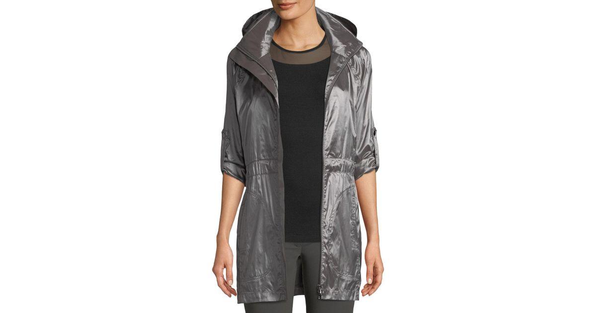 Lyst - Anatomie Merika Water-resistant Travel Jacket in Gray